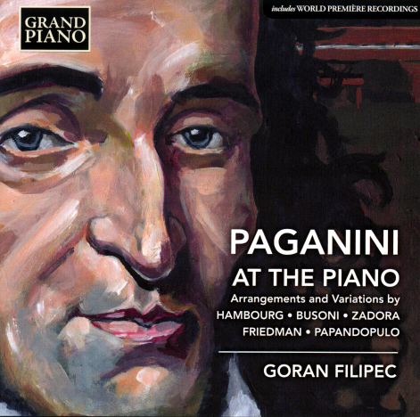 Paganini at the Piano CD